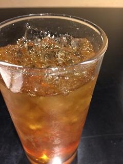 うどんとパフェの店 雪花々 アイスウーロン茶