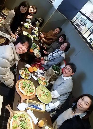 静岡のライフオーガナイザー新年会・掛川ファニーファーム