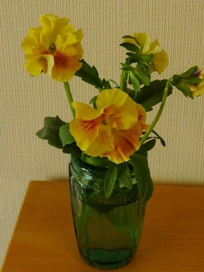 部屋にお花を飾る・色から元気をもらう♪