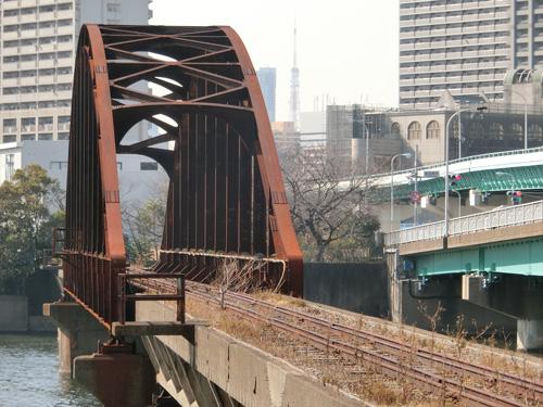 東京都港湾局専用線、豊洲から枝川を通り、木場へ!