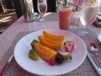 フルーツまたはジュースを選択