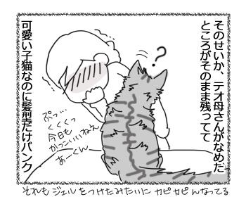 羊の国のラブラドール絵日記シニア!!「パンクな子猫」4
