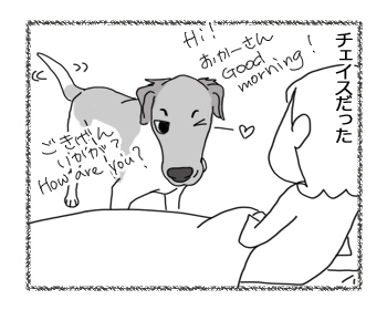 羊の国のラブラドール絵日記シニア!!「ハンサムのせいで」2