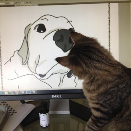 羊の国のラブラドール絵日記シニア!!「猫との暮らしに見る時代の流れ」5