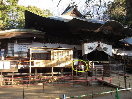 お正月の深大寺