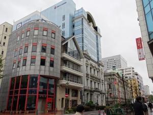 旧川崎銀行横浜支店(日本興亜馬車道ビル) 烏鷺光一の「囲碁と歴史」