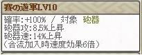 滝川Lv10