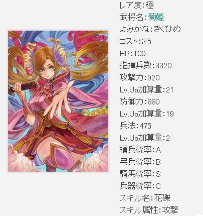 先行 極菊姫