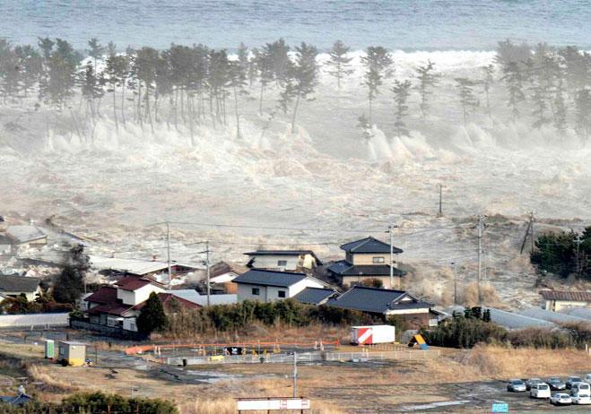 東北大地震