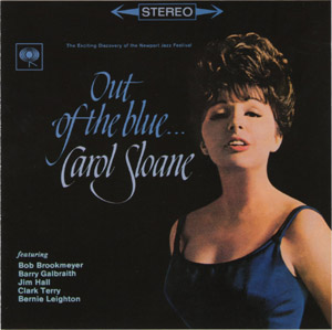 Carol Sloane Out Of The Blue