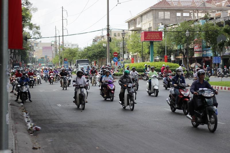 ベトナム チョロン バイクジャンク通り