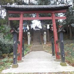 ①滝馬室氷川神社 鳥居
