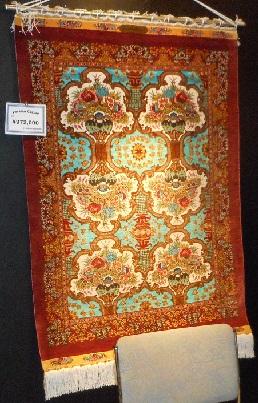 ⑤ペルシャ絨毯 比較的小さいサイズ