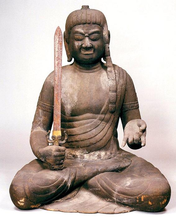 伊崎寺・不動明王坐像