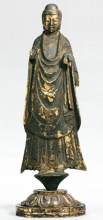 法隆寺献納宝物・如来立像(151号像)