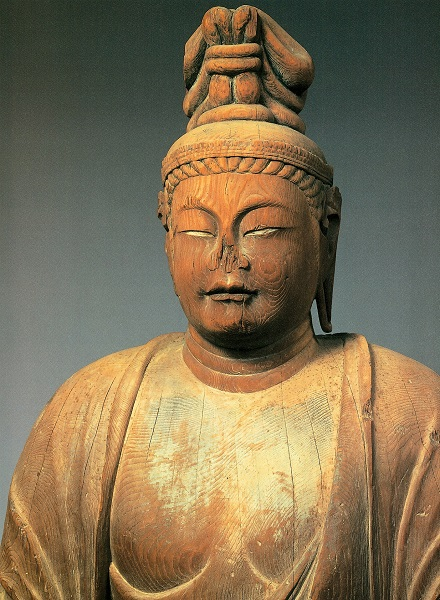 唐招提寺・伝獅子吼菩薩像(カヤ材)