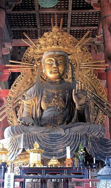 東大寺大仏殿・虚空蔵菩薩像(江戸時代制作像)