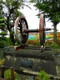 JR鮫駅 8620型動輪