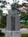 JR十和田南駅 和井内貞行翁像