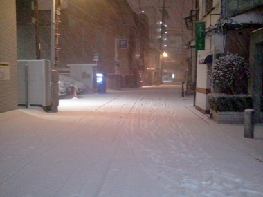 寒っ (>_<)