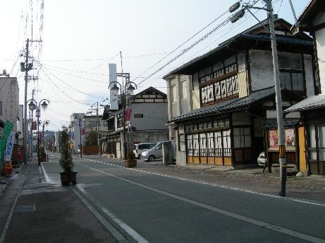 左沢商店街