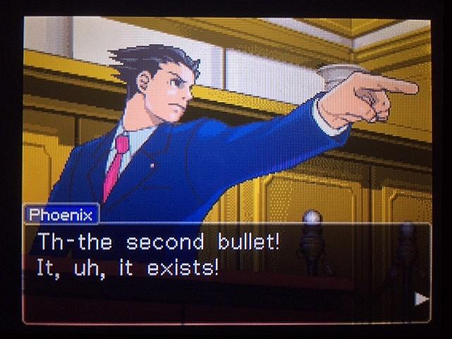 逆転裁判 北米版 The second bullet11