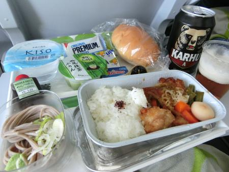 フィンランド航空 機内食2