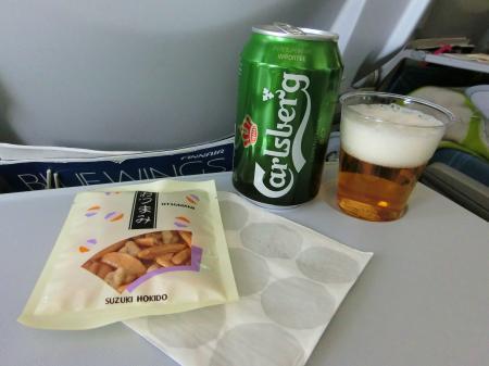 フィンランド航空 機内食1