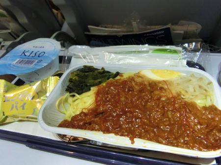 フィンランド航空 機内食9