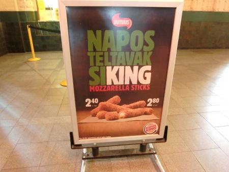 Burger King helsinki 2