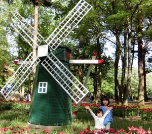 国営ひたち海浜公園・風車