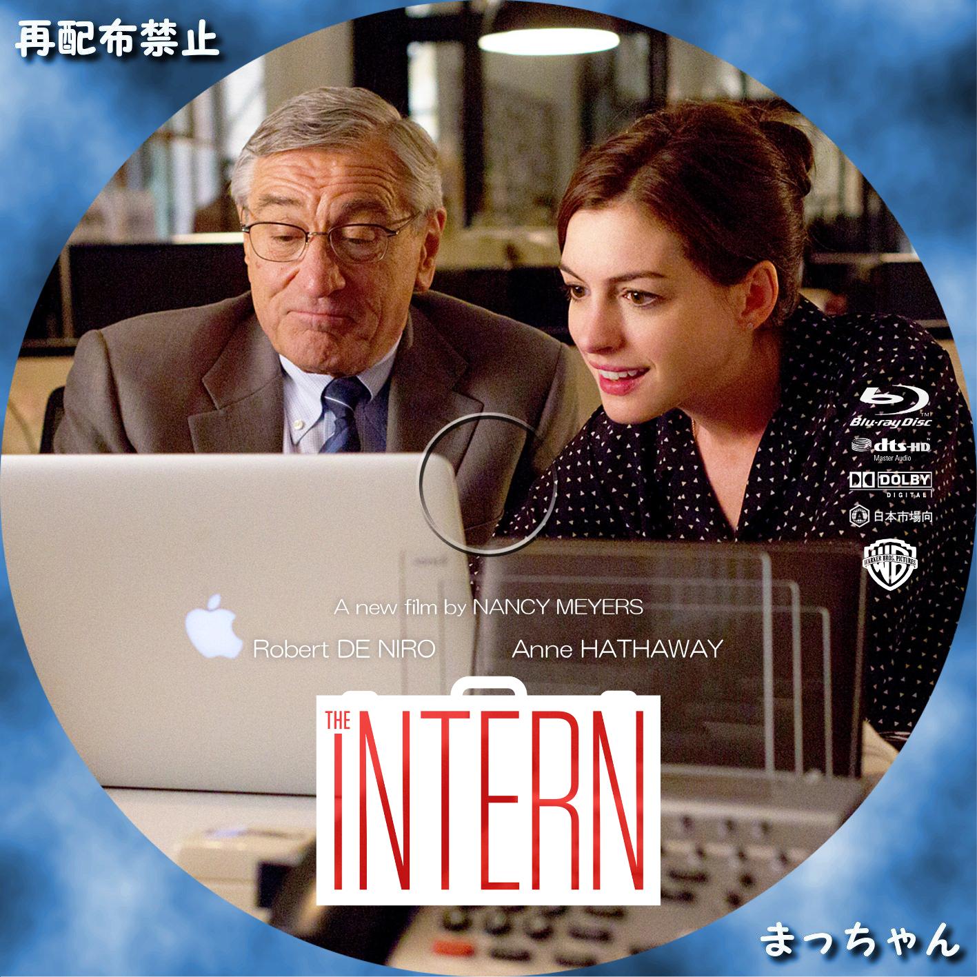 The Intern DVD Label