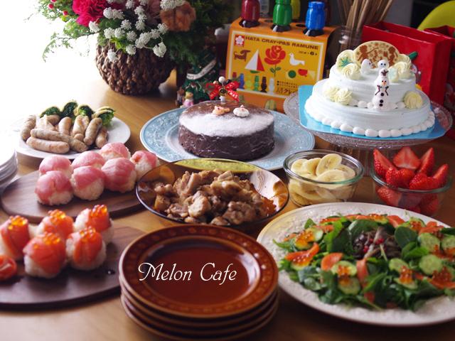 2015クリスマスの食卓めろんカフェ06