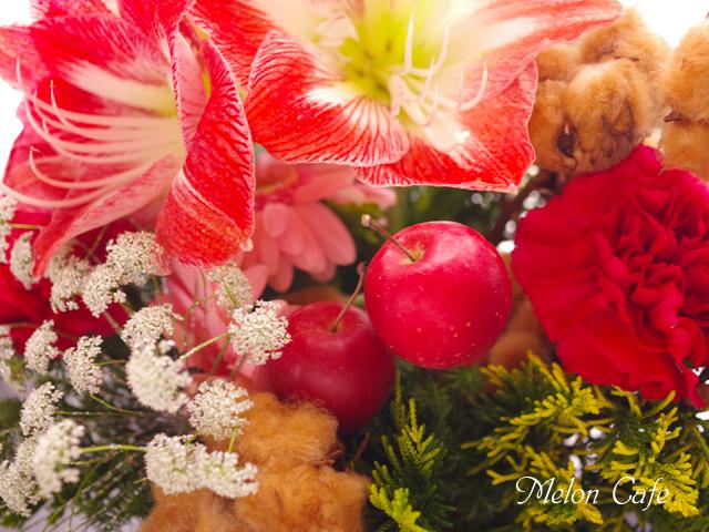 2015クリスマスの食卓めろんカフェ07