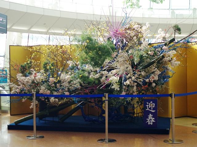 羽田空港年末年始めろんカフェ2015から2016へ04