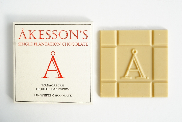 【AKESSON'S】MADAGASUCAR BEJOFO PLANTATION 43% WHITE CHOCOLATE