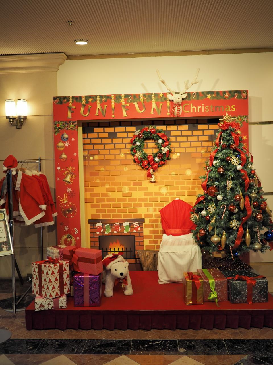 tdrオフィシャルホテルのクリスマスデコレーションなど - 海と絵と