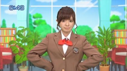 160122合格モーニング 紺野あさ美 (1)