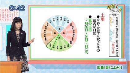 160126 合格モーニング 紺野あさ美 (3)