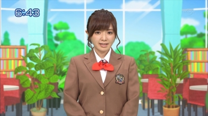 160126 合格モーニング 紺野あさ美 (2)