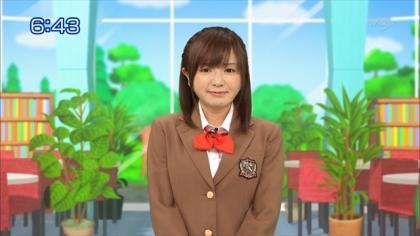 160210合格モーニング 紺野あさ美 (2)