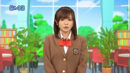 160211合格モーニング 紺野あさ美 (2)