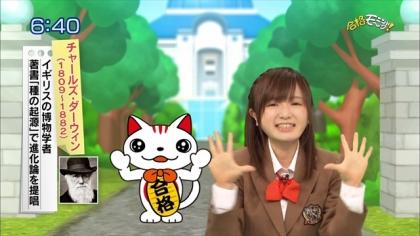160212合格モーニング!紺野あさ美 (5)