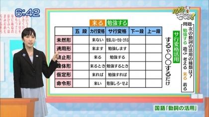 160223合格モーニング! 紺野あさ美 (4)