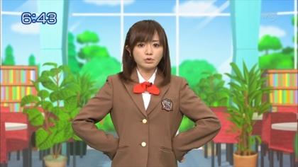 160307合格モーニング 紺野あさ美 (1)