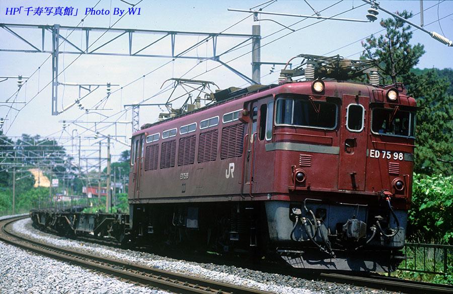ED7598号機2000年6月