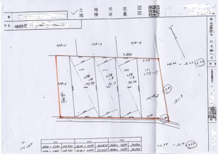 地籍測量図