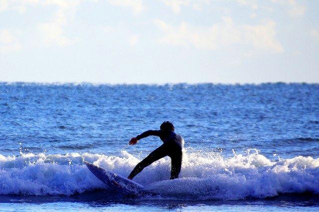 凪の海で(お倉ヶ浜)