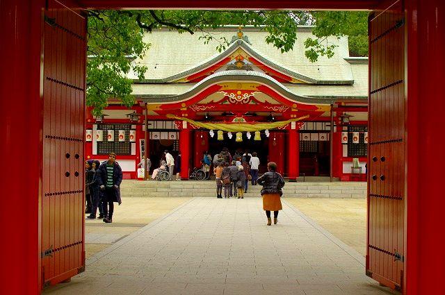 春日神社をシグマAPO50-500で撮る