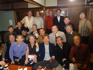 京都でクラス会1